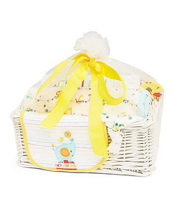 Unisex baby clothes newborn boy girl clothes mothercare roll up roll up new baby gift basket negle Images
