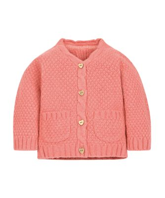 Coral Cable Cardigan