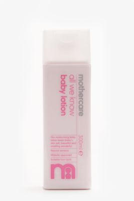 Mothercare All We Know Baby Lotion - 300ml