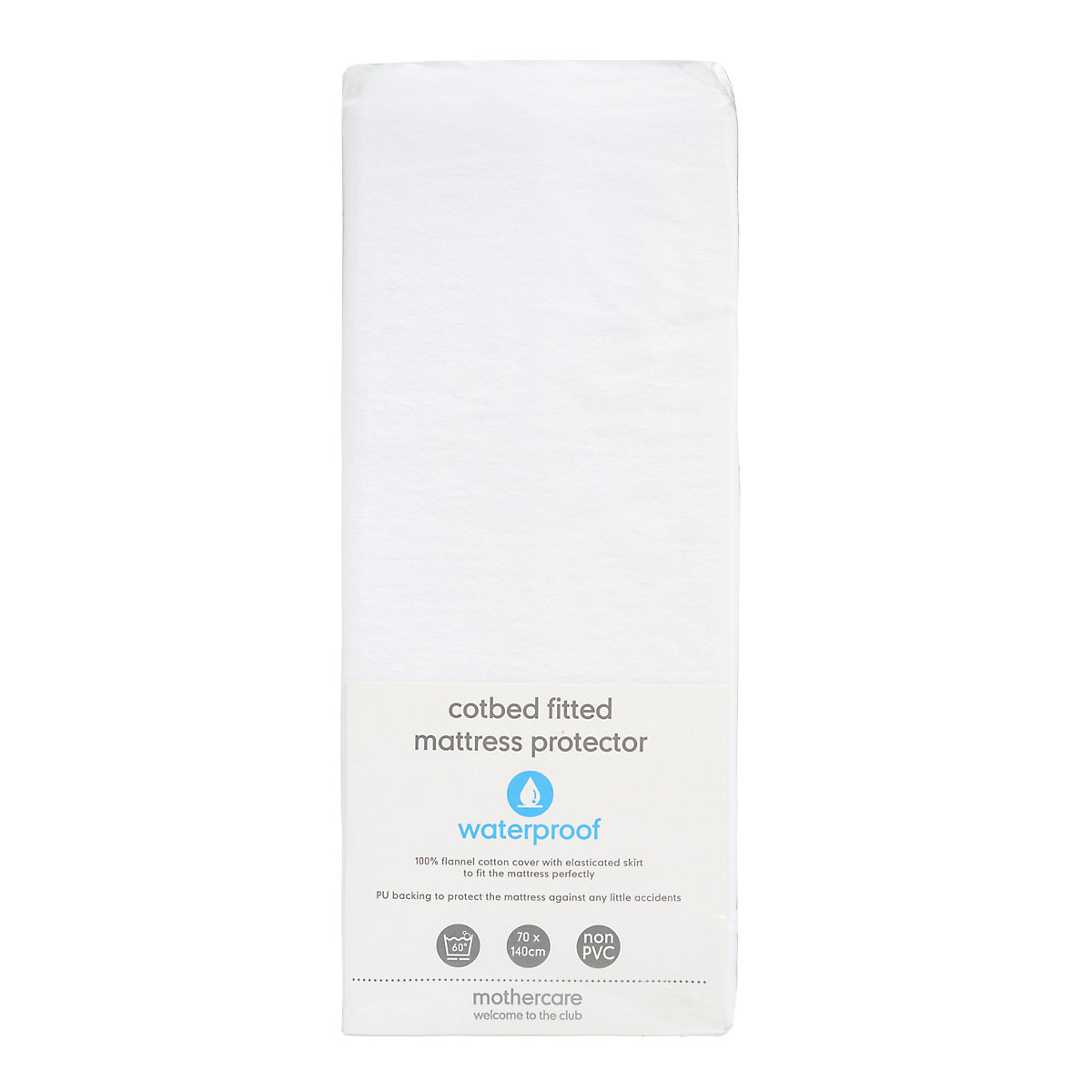 Image Is Loading B Baby Bedding Ed Cot Bed Mattress Protector