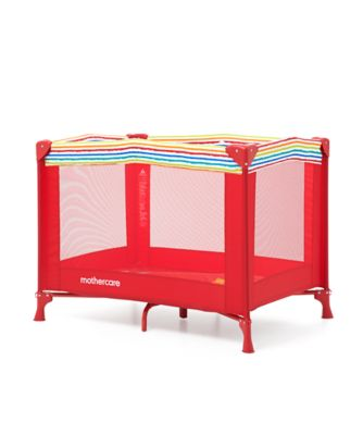 mothercare jungle travel cot