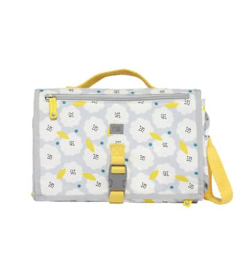 mothercare zinnia changing clutch  floral pop