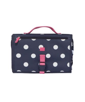mothercare zinnia changing clutch  classic navy spot