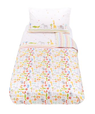 hello friend cot bed duvet set