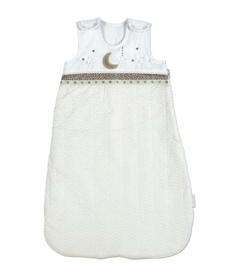 silver cross to the moon and back sleepsuit