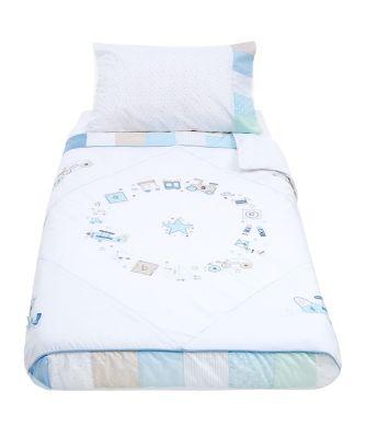 mothercare little voyage cot bed duvet set