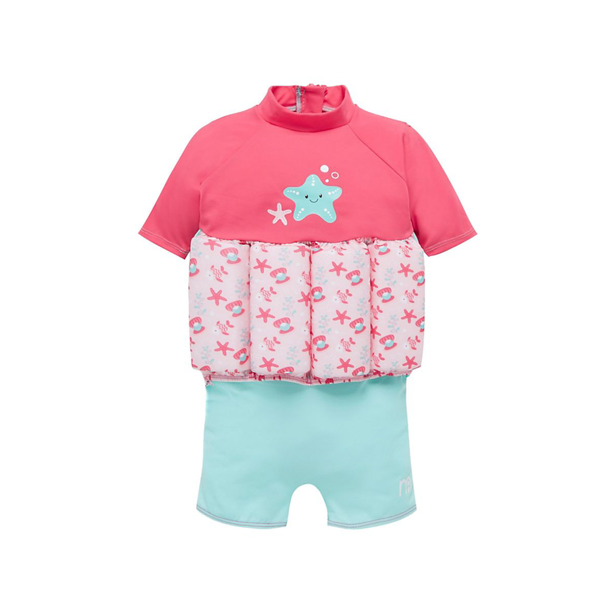 Mothercare Swimsafe Float Suits Pink 1 2