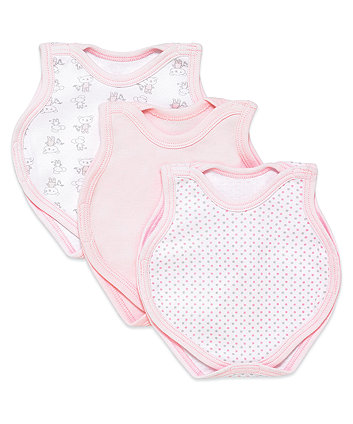 Girls Premature Bodysuits - 3pk