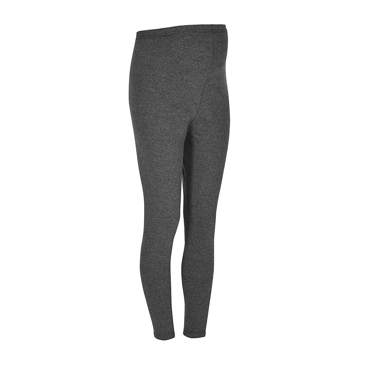 grey jersey maternity leggings