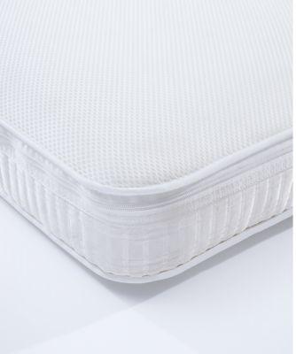 mothercare airflow pocket spring cot mattress