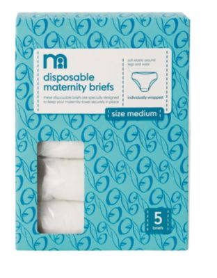 Mothercare Disposable Maternity Briefs- 5 Pack