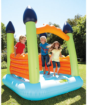 Elc Bouncy Castle - Blue