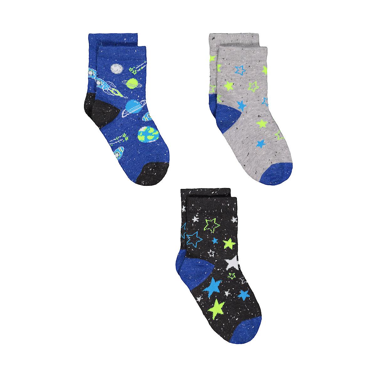 space socks - 3 pack
