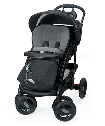 Mothercare Trenton Deluxe Pram And Pushchair Travel System - Deco Black