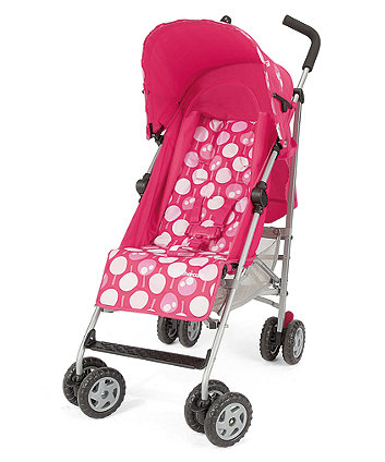 Mothercare Nanu Stroller - Lollipop Blush