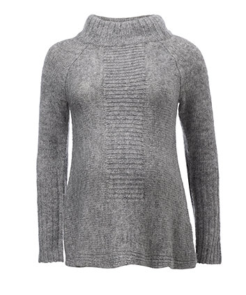 Blooming Marvellous Grey Maternity Funnel Neck Jumper