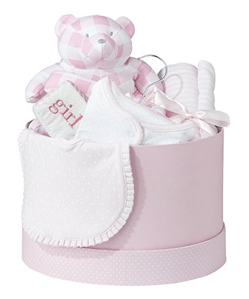 Mothercare Girls Hat Box 6 Piece Gift Set