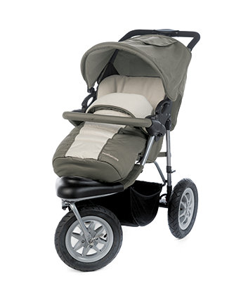 Mothercare Xtreme Pushchair Travel System - Khaki
