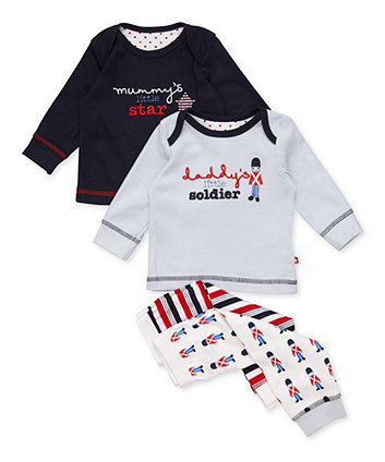 Mothercare Boys Mummy And Daddy Pyjama Set – 2 Pk