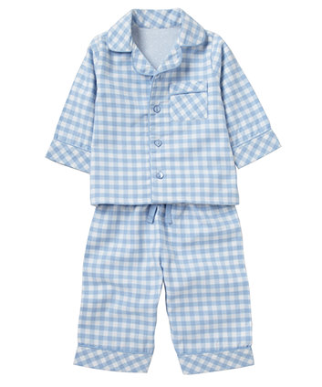 Mothercare Check Woven Pyjama Set