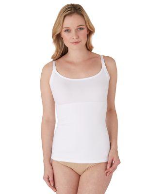Maternity Post Pregnancy Vest- White