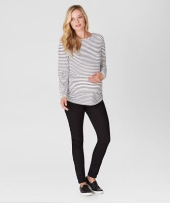 Maternity Under The Bump Black Jeggings