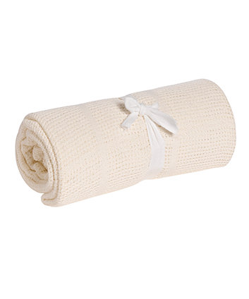 Mothercare Cotton Cellular Blanket - Cream