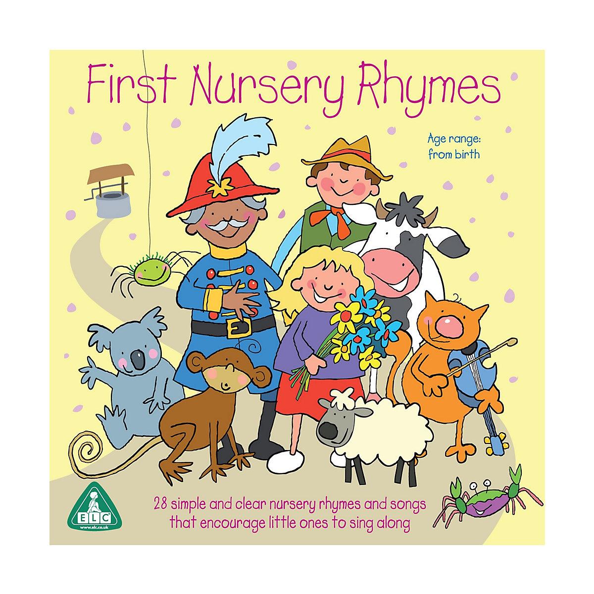 First Nursery Rhymes CD - Nursery Gifts