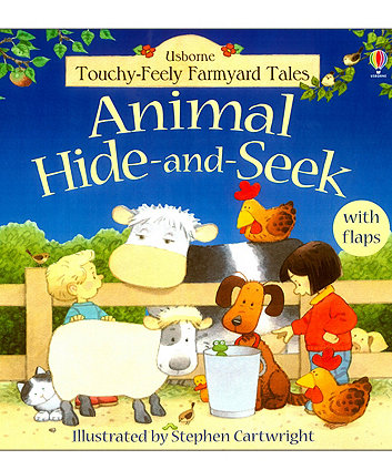 Animal Hide and Seek Book