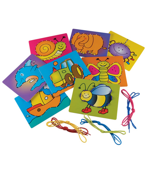 Early Learning Centre Sew and Lace Cards