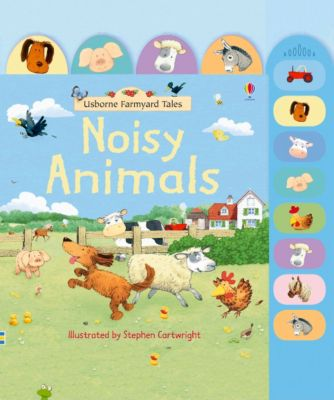 Usborne Farmyard Tales Noisy Animals Book