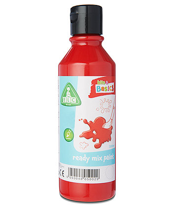 Early Learning Centre Red Ready Mix 300ml Paint