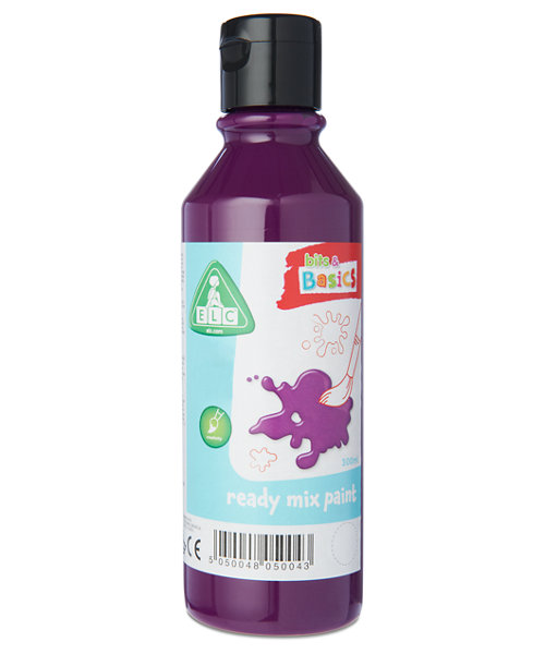 Early Learning Centre Purple Ready Mix 300ml Paint