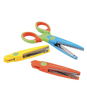 Early Learning Centre 3 In 1 Soft Grip Scissors