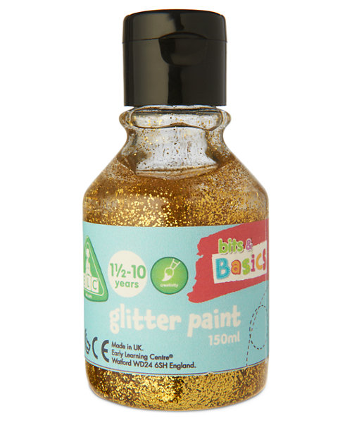 Early Learning Centre Glitter Paint Gold - 150ml