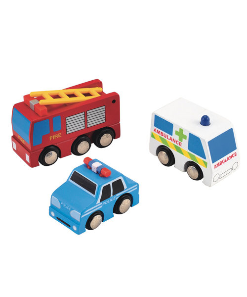 Early Learning Centre Big City Emergency Vehicle Set