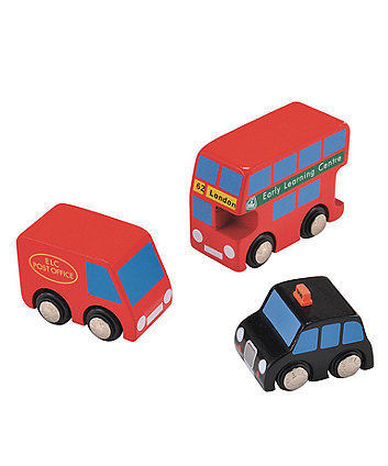 Early Learning Centre Big City Vehicle Set