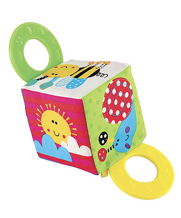 Bugs Soft Teether Cube