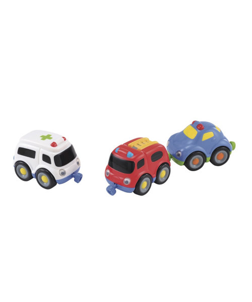 Early Learning Centre Emergency Vehicle Magnetic Trio Set