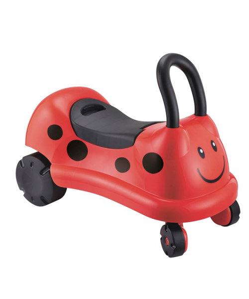Early Learning Centre Easy Wheels Ride On - Ladybird