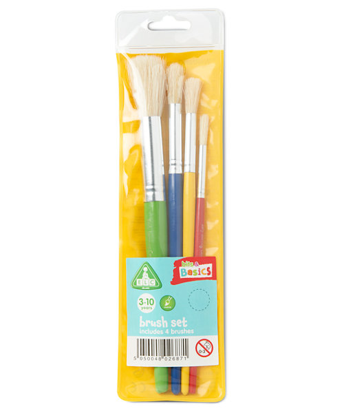 Early Learning Centre Paint Brush Set