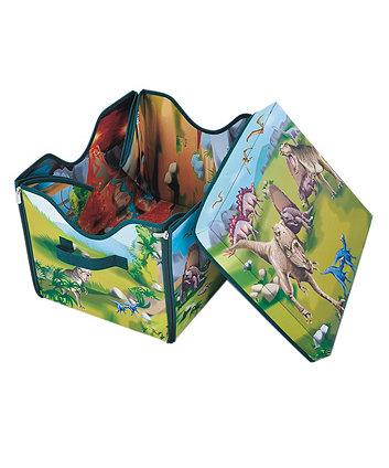 Early Leaning Centre Dinosaur Storage Case And Playmat Set