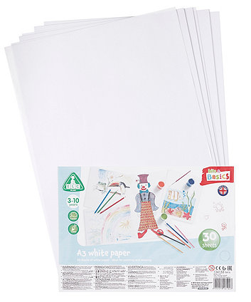 Early Learning Centre A3 White Paper - 30 Sheets