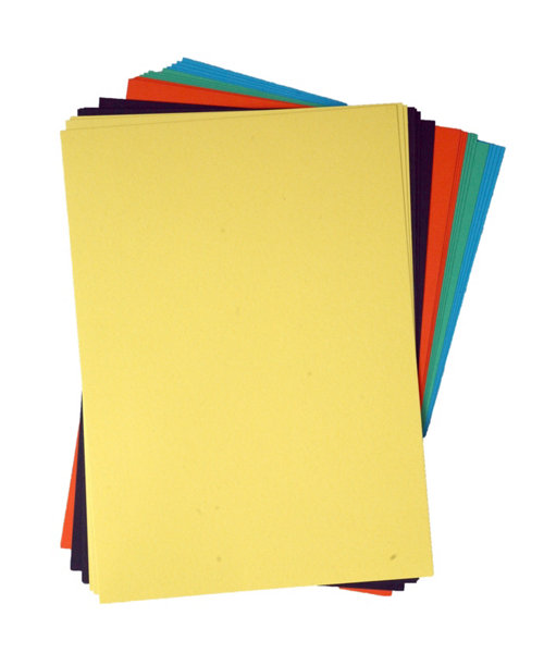 Early Learning Centre A4 Multi Coloured Card - 20 Sheets