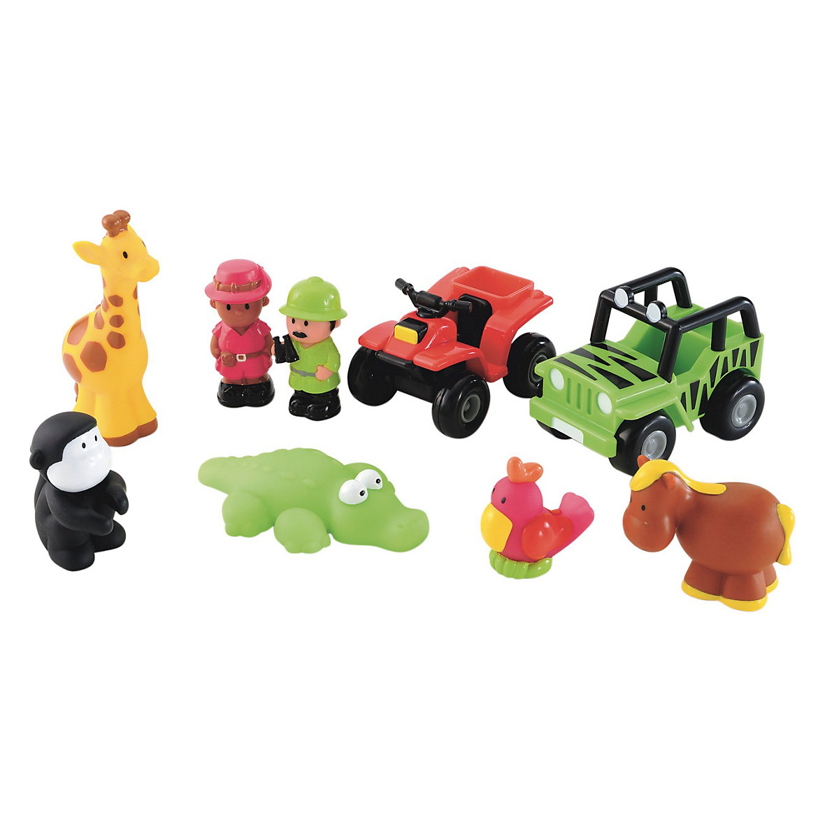 Toys For Girls 18 Months : New elc boys and girls happyland safari adventures toy
