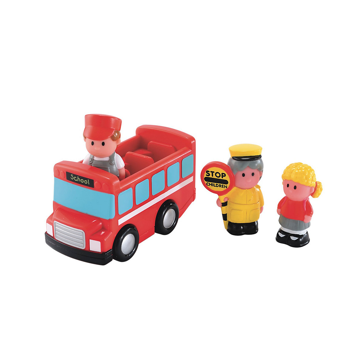 Bus Toys For Girls : New elc boys and girls happyland school bus toy from