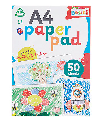 Early Learning Centre A4 White Paper Pad - 50 Sheets