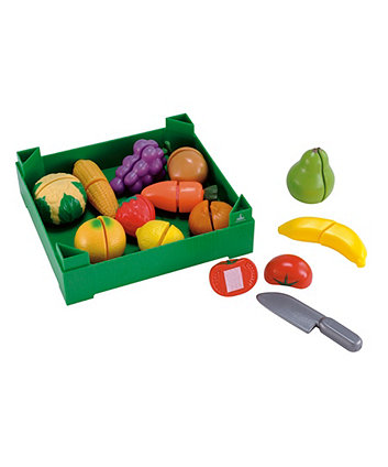 Early Learning Centre Crate of Cut and Play Fruit and Vegetables