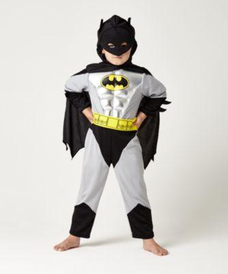 Metallic Batman Costume 3-4 Years