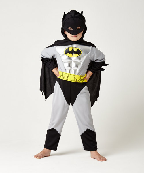 Metallic Batman Costume 3-4 Years